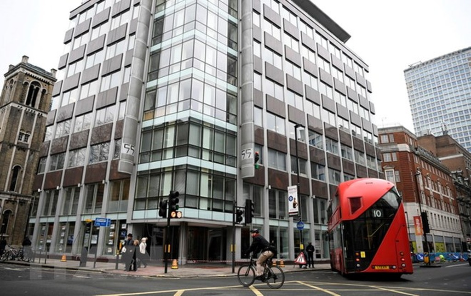 Trụ sở Cambridge Analytica ở London, Anh. (Nguồn: EPA/TTXVN)