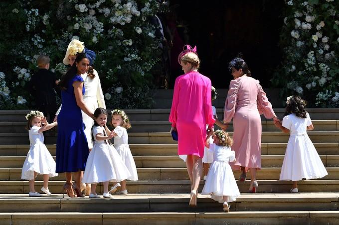 Những khoảnh khắc ấn tượng trong lễ cưới Hoàng tử Anh - ảnh 2