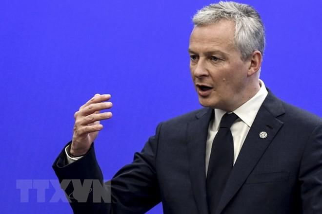 Bộ trưởng Kinh tế Pháp Bruno Le Maire. (Nguồn: AFP/TTXVN)