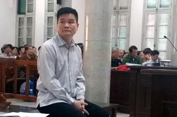 Bị cáo Phạm Thanh Hải tại phiên xét xử sơ thẩm. Ảnh: Tiến Nguyễn