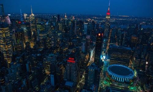 Thành phố New York (Mỹ) nhìn từ trên cao. Ảnh:Bloomberg