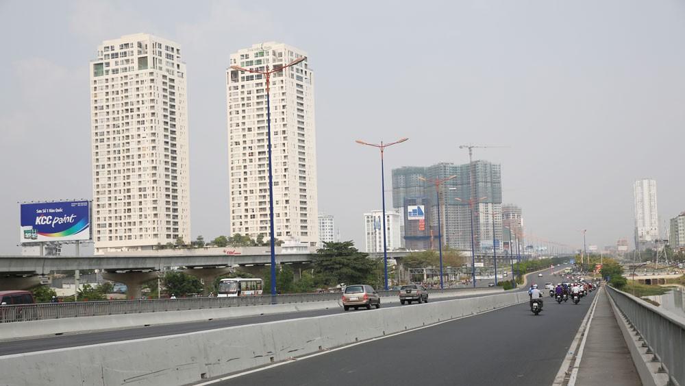 Hiện loại nhà ở trung cấp và bình dân có giá dưới 1,5 tỷ đồng/căn chiếm khoảng 74% thị phần ở TP.HCM. Ảnh: Lê Tiên