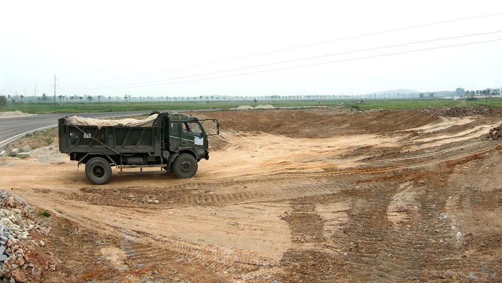 Công ty CP Đầu tư Bác Nguyên Lạng Sơn là chủ đầu tư của Dự án Xây dựng hạ tầng Cụm công nghiệp Hợp Thành từ 10 năm trước. Ảnh: Gia Khoa