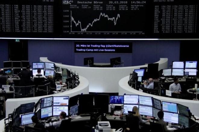 Thị trường chứng khoán châu Âu bị tác động bởi tình hình chính trị Italy. (Nguồn: Reuters)