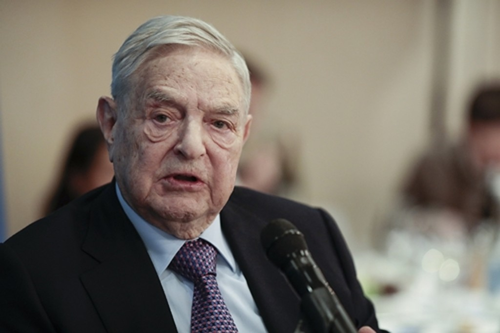 Tỷ phú đầu tư nổi tiếng của Mỹ -George Soros. Ảnh:Bloomberg