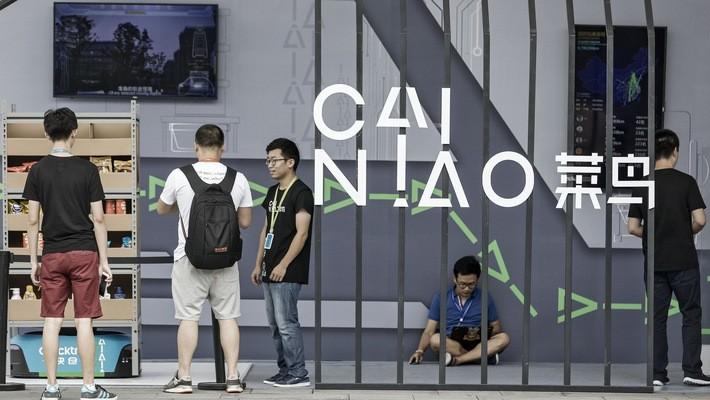 Cainiao đóng vai trò là một nền tảng hợp tác vận tải dựa trên ứng dụng công nghệ kết nối các hãng chuyển phát nhanh và nhà kho - Ảnh: Wall Street Journal.
