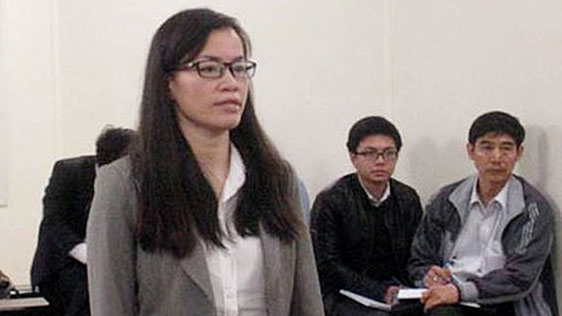 Thông qua thương vụ 10.000 container, Nguyễn Hồng Anh đã chỉ đạo nhân viên lập hồ sơ giả chiếm đoạt tiền ngân hàng. Ảnh: T. Nhung