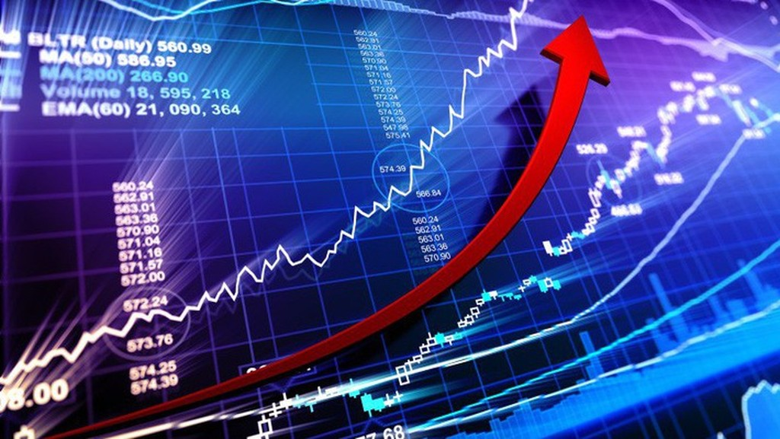 Mức vốn hóa thị trường trong gần 5 tháng tương đương 76,8% GDP. (Ảnh minh họa)