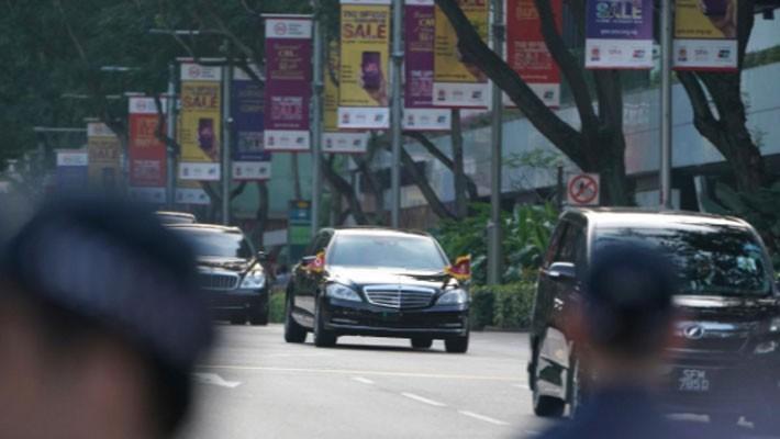 Những hình ảnh đầu tiên của ông Trump và ông Kim Jong Un ở Singapore - ảnh 4