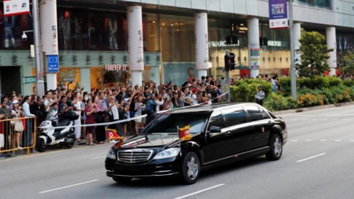 Những hình ảnh đầu tiên của ông Trump và ông Kim Jong Un ở Singapore - ảnh 7