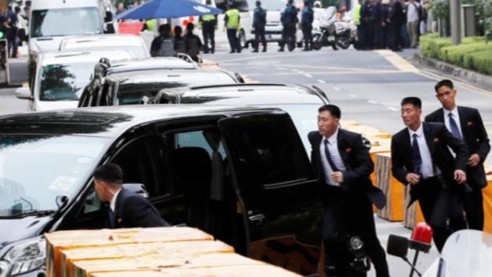 Những hình ảnh đầu tiên của ông Trump và ông Kim Jong Un ở Singapore - ảnh 10