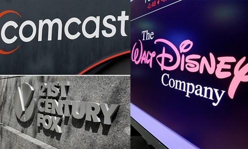Cuộc chiến giành Fox giữa Comcast và Disney đã bắt đầu. Ảnh:CNN