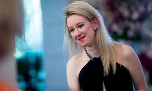 Elizabeth Holmes từng là nữ tỷ phú tự thân trẻ nhất thế giới. Ảnh:Makers