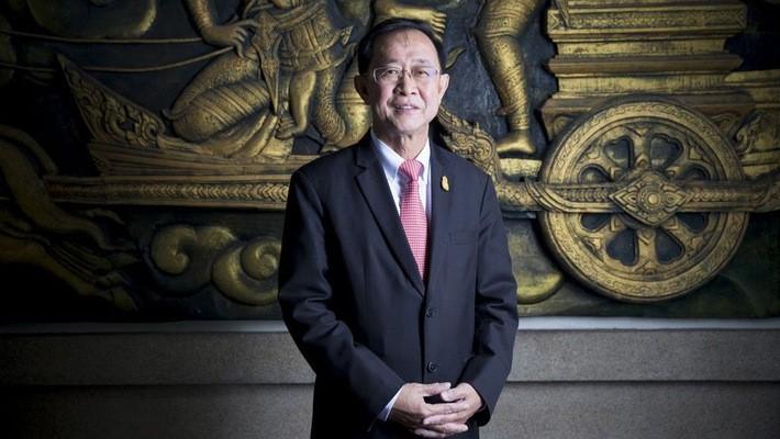 Arkhom Termpittayapaisith - Bộ trưởng Giao thông Thái Lan - Ảnh: Bloomberg