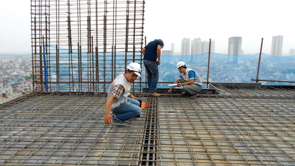 Các công nghệ tiên tiến liên quan đến sàn bê tông đã được ứng dụng, song chưa phổ biến do chi phí cao. Ảnh: Thanh Sang