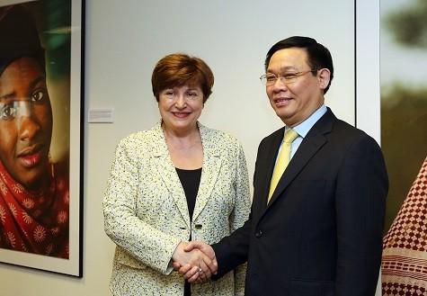 WB và IMF coi trọng hợp tác với Việt Nam - ảnh 1