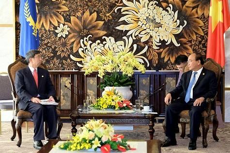 Thủ tướng tiếp lãnh đạo các tổ chức quốc tế - ảnh 5