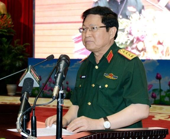 Chùm ảnh: Thủ tướng dự Hội nghị Quân chính toàn quân - ảnh 4