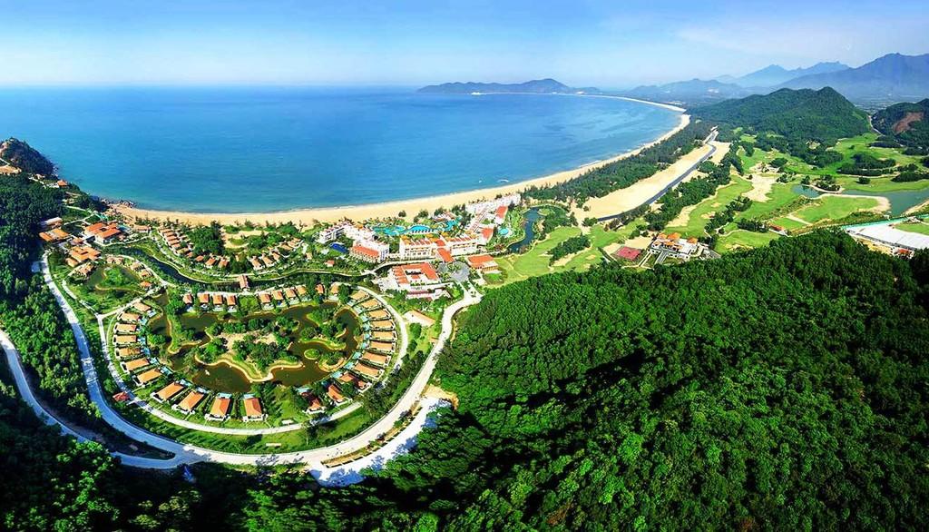 Dự án Công ty TNHH Laguna (Việt Nam) tại Khu kinh tế Chân Mây - Lăng Cô điều chỉnh tăng vốn thêm 1,12 tỷ USD. Ảnh: Xuân Trà