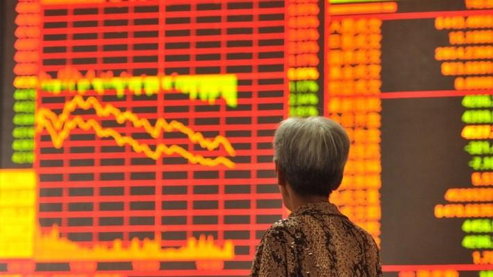 Chứng khoán Trung Quốc đang đứng trước áp lực giảm điểm lớn.