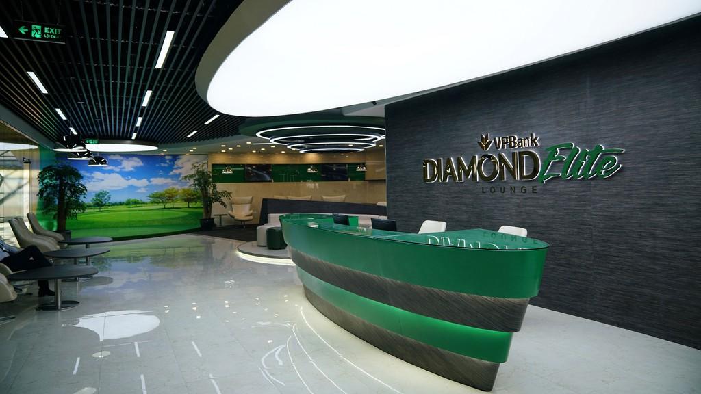 Thiết kế sang trọng, hiện đại của VPBank Diamond Elite Lounge