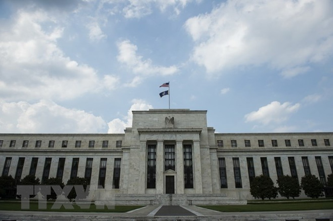 Trụ sở Fed tại Washington DC. của Mỹ ngày 14/6 vừa qua. (Ảnh: AFP/TTXVN)