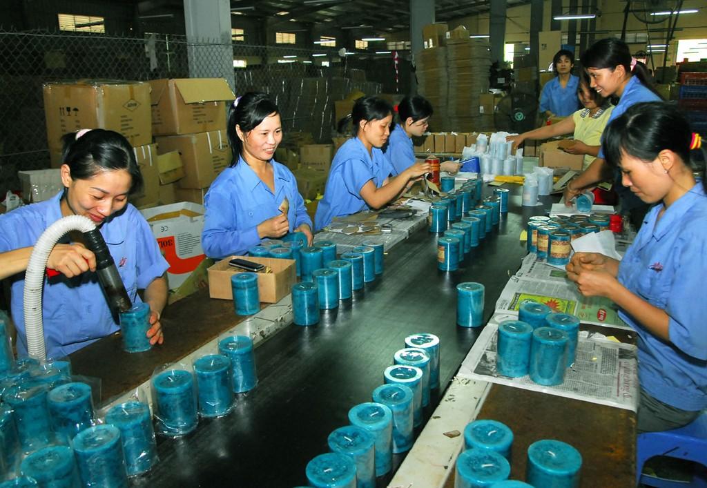 Chỉ có 11% doanh nghiệp tư nhân hướng đến xuất khẩu thông qua người mua hàng quốc tế. Ảnh: Ngọc Kỳ