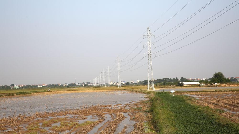 Thông qua đấu thầu rộng rãi, Gói thầu Xây lắp đường dây 500kV Tây Hà Nội - Thường Tín trị giá hơn 342 tỷ đồng đã đạt tỷ lệ tiết kiệm 31,1%. Ảnh: Nhã Chi