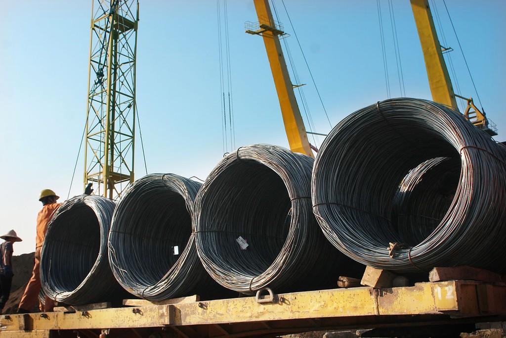 Dự báo ngành thép sẽ tăng trưởng khoảng 20% trong năm 2018. Ảnh: Nhã Chi