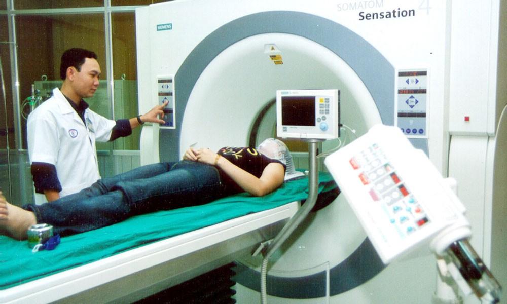 Dự án Nâng cấp trang thiết bị y tế tại Trung tâm Ung bướu Chợ Rẫy - Bệnh viện Chợ Rẫy có tổng vốn đầu tư 1.130,8 tỷ đồng. Ảnh: Tường Lâm