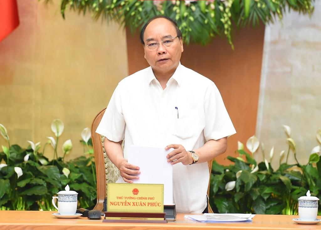Thủ tướng giao nhiệm vụ cho Tổ công tác của Thủ tướng trực tiếp làm việc, đôn đốc các địa phương có nhiều doanh nghiệp chậm cổ phần hóa. Ảnh: Quang Hiếu