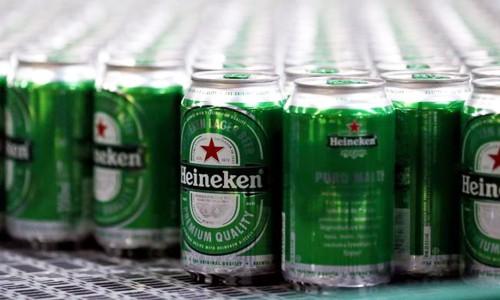 Heineken hiện chỉ chiếm 0,5% thị phần bia tại Trung Quốc. Ảnh:Reuters