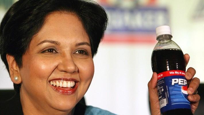 Bà Indra Nooyi, CEO hãng đồ uống Pepsi.