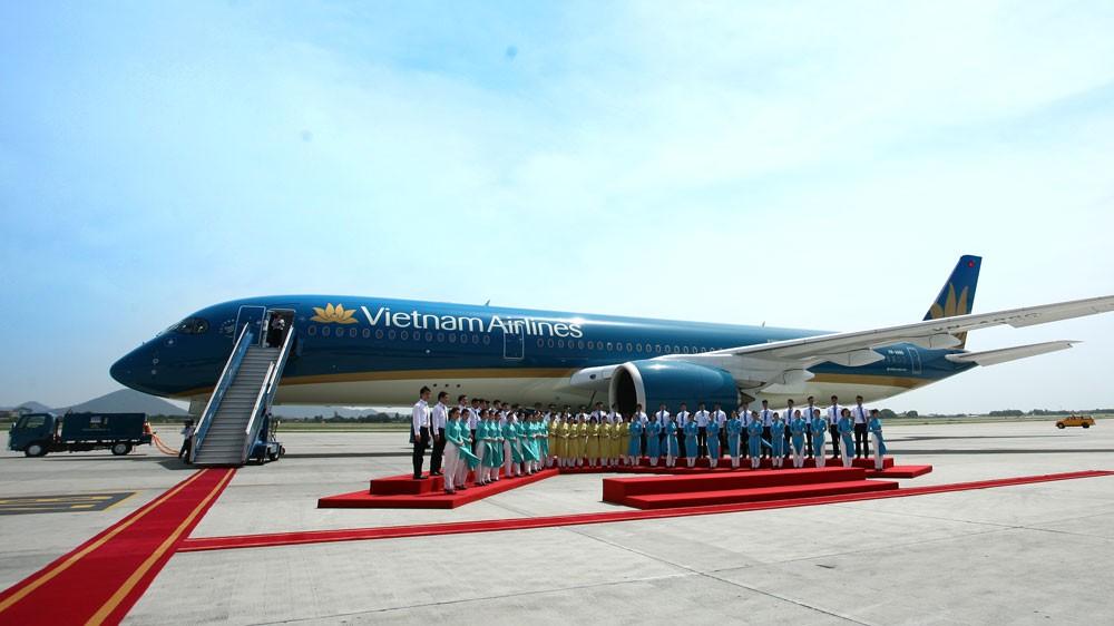 Cuối quý II/2018, tổng nợ phải trả của Vietnam Airlines ở mức gần 70.000 tỷ đồng, chiếm 80% tổng nguồn vốn hoạt động. Ảnh: Lê Tiên