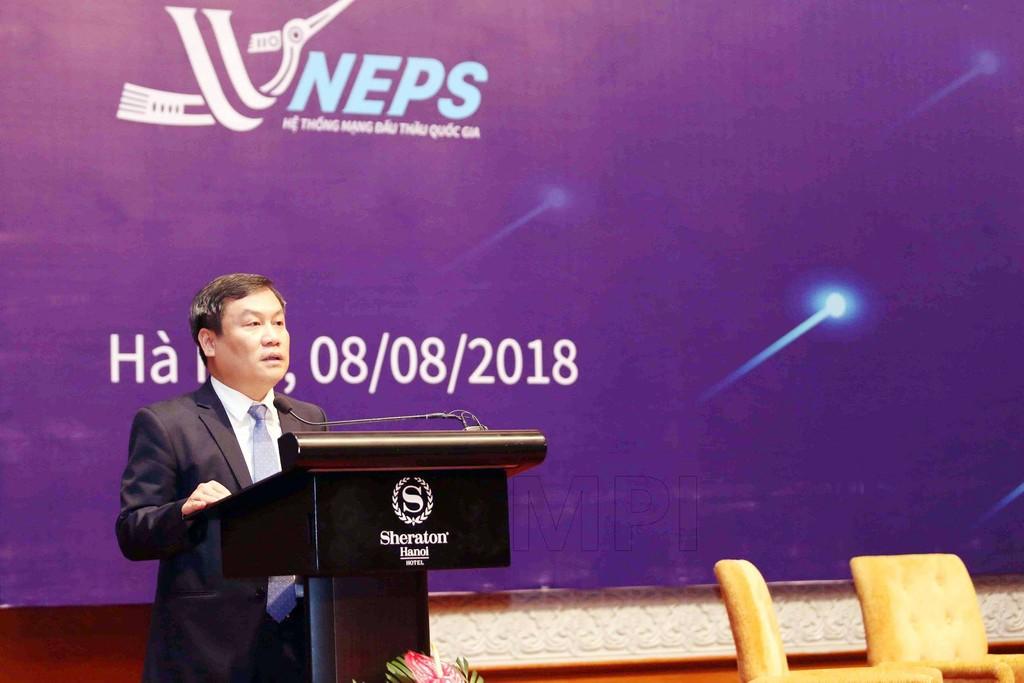 Khai mạc Diễn đàn Đấu thầu qua mạng Việt Nam 2018 - ảnh 1
