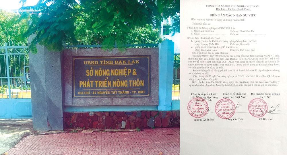 """Tiểu dự án Sửa chữa hệ thống kênh chính Ea Kao (Đắk Lắk): """"Nhắm mắt"""" chọn nhà thầu? - ảnh 1"""
