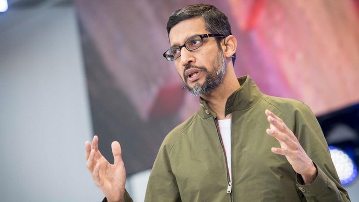 Giám đốc điều hành (CEO) Sundar Pichai của Google - Ảnh: CNBC.