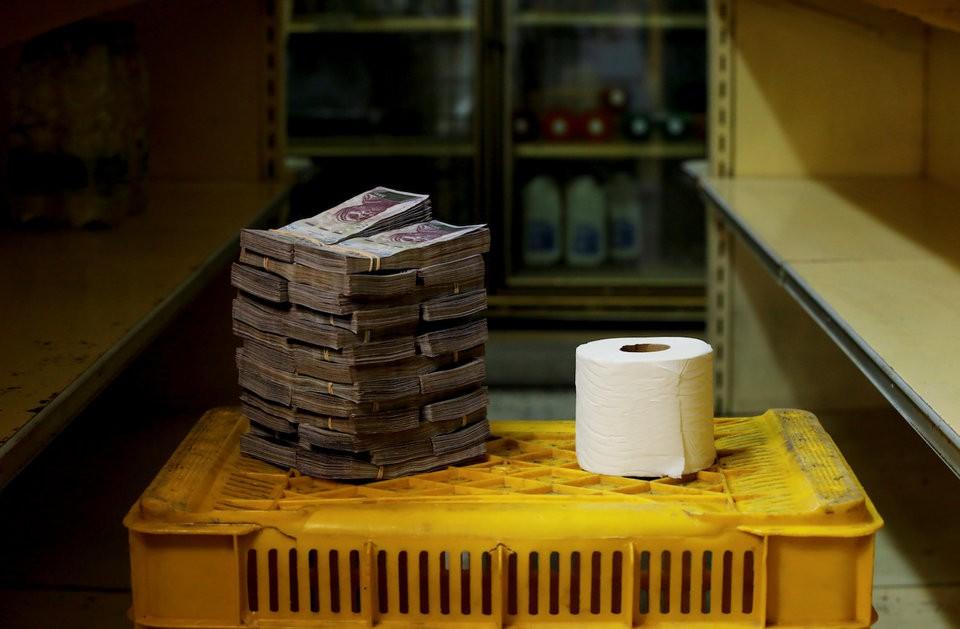 """Những bức ảnh cho thấy mức độ """"siêu lạm phát"""" tại Venezuela - ảnh 4"""