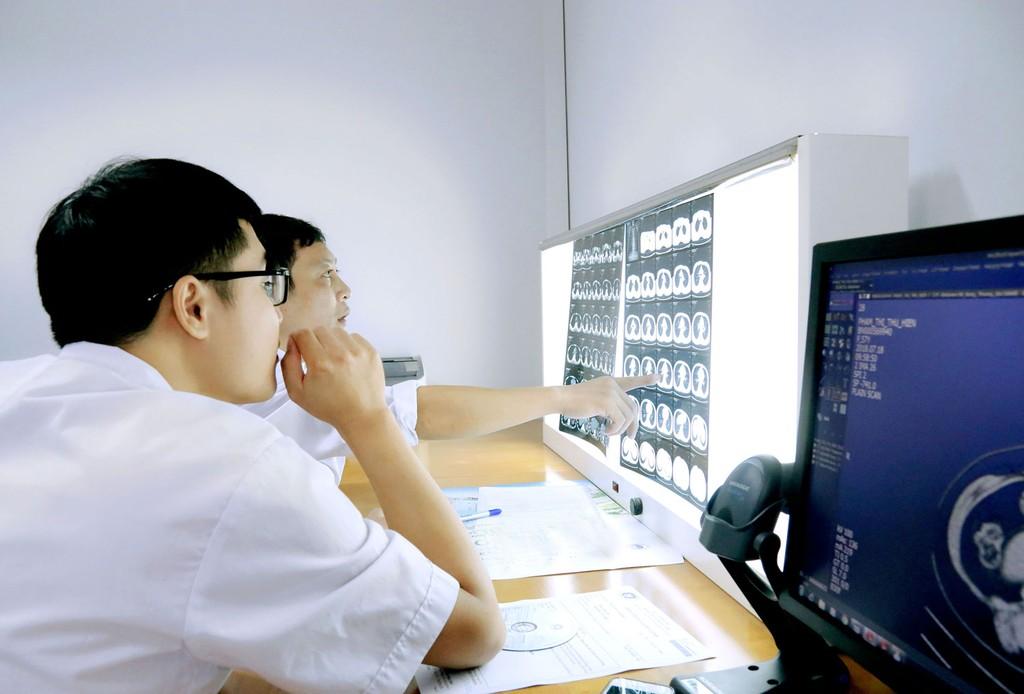 Dự án Xây dựng 3 bệnh viện thông minh hướng tới tiêu chuẩn quốc tế do Sở Y tế tỉnh Quảng Ninh làm chủ đầu tư, gồm 7 gói thầu. Ảnh: Thanh Nga