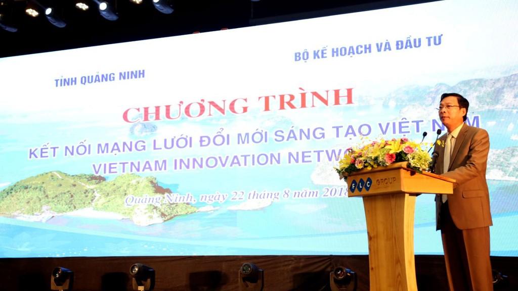 Thông qua Tọa đàm diễn ra ngày 22/8, lãnh đạo tỉnh Quảng Ninh mong muốn kết nối chặt chẽ với Mạng lưới đổi mới sáng tạo Việt Nam. Ảnh: Trương Gia
