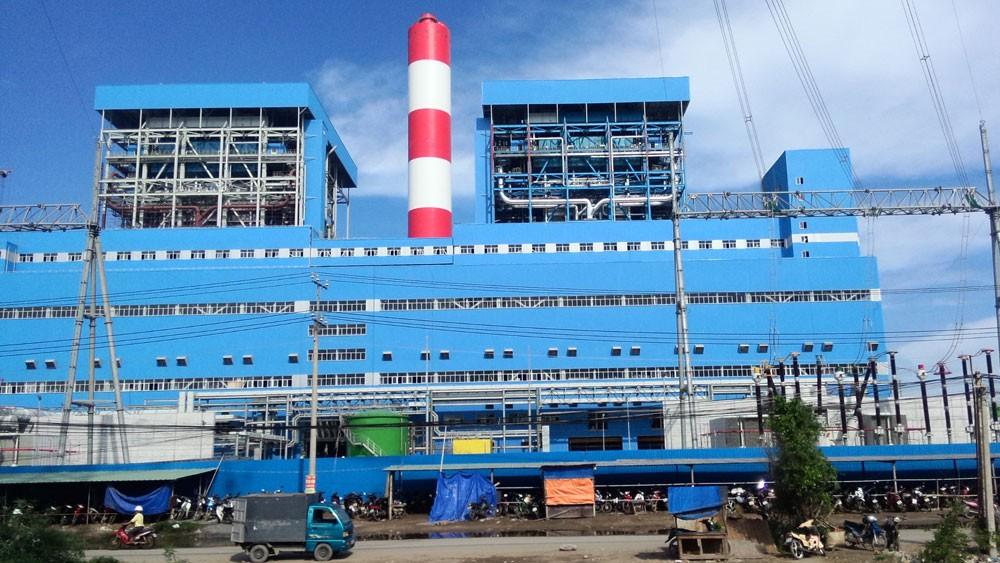 Khởi công từ tháng 12/2012, đến thời điểm kiểm toán tháng 4/2018, Dự án Nhiệt điện Duyên Hải 3 vẫn chưa được cấp phép xả thải vào nguồn nước. Ảnh: Thanh Trung