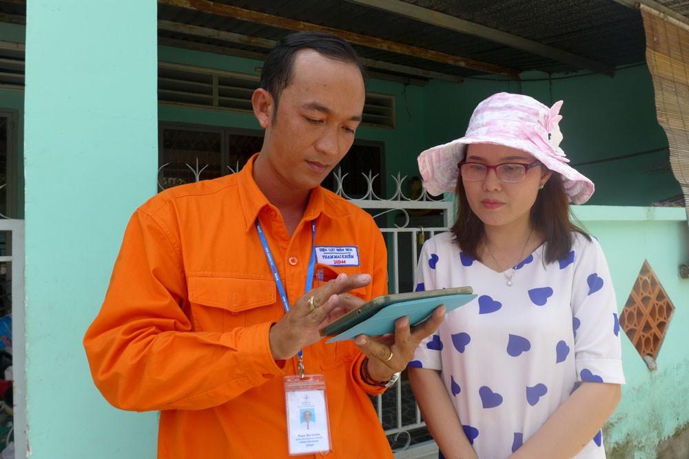 EVN SPC tích cực ứng dụng công nghệ vào chăm sóc khách hàng