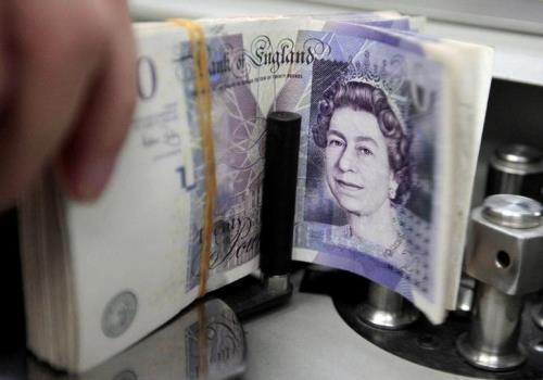 Giá đồng bảng Anh tăng mạnh. Ảnh: reuter