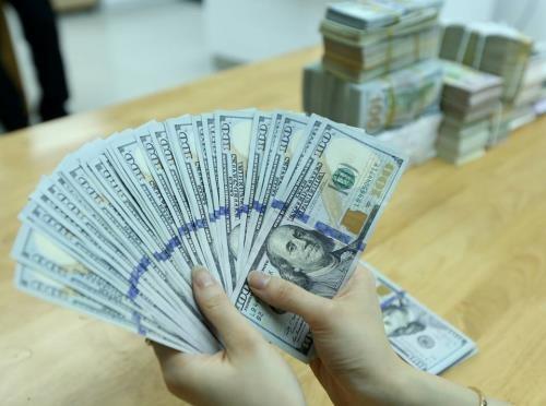 Tỷ giá trung tâm hôm nay tăng 10 đồng. Ảnh: BNEWS/TTXVN