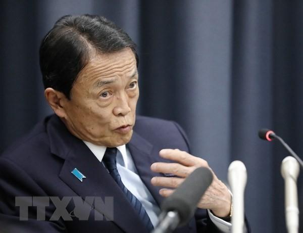 Bộ trưởng Tài chính Nhật Bản Taro Aso. (Nguồn: AFP/TTXVN)