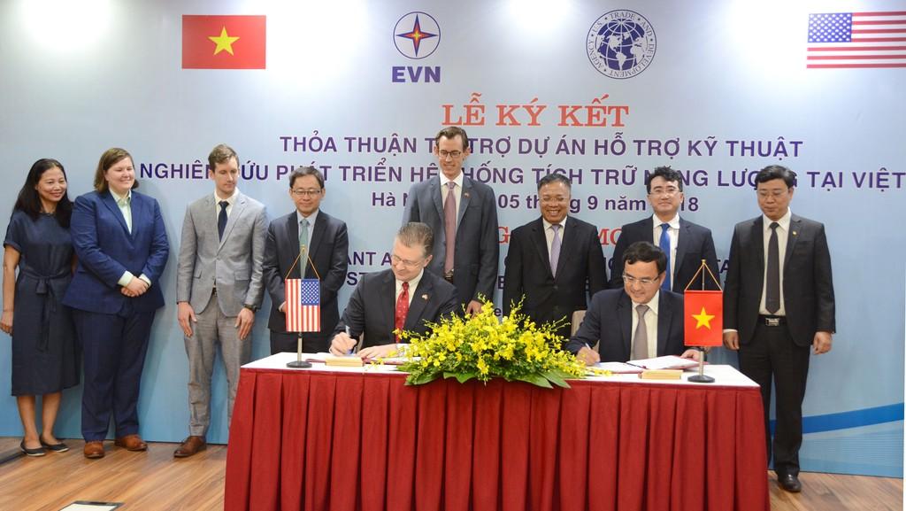 Ký kết thỏa thuận tài trợ Dự án hỗ trợ kỹ thuật Nghiên cứu phát triển hệ thống tích trữ năng lượng tại Việt Nam