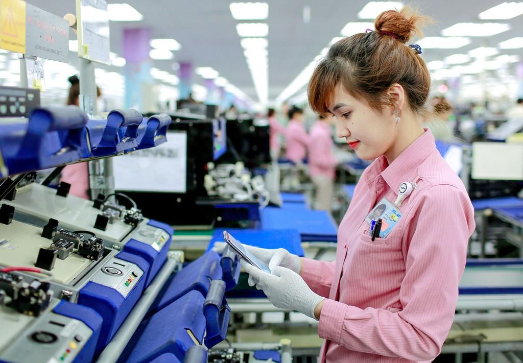 Vốn FDI đăng ký và thực hiện trong 3 năm 2016 - 2018 tăng mạnh so với giai đoạn trước. Ảnh: Việt Hưng