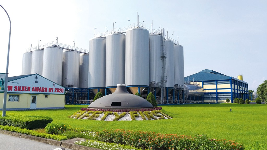 Heineken đang triển khai năng lượng mặt trời tại 4/6 nhà máy tại Việt Nam