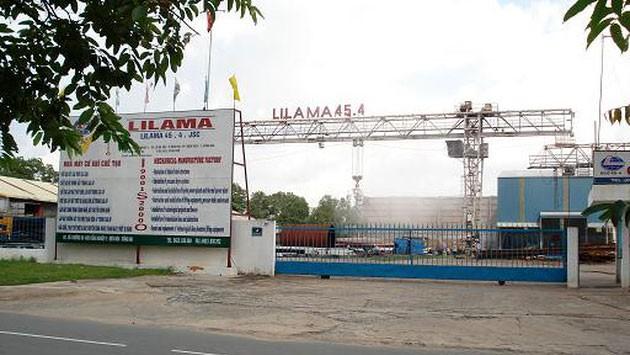 Lilama 45.4 lỗ ròng 8,66 tỷ đồng trong 6 tháng đầu năm 2018