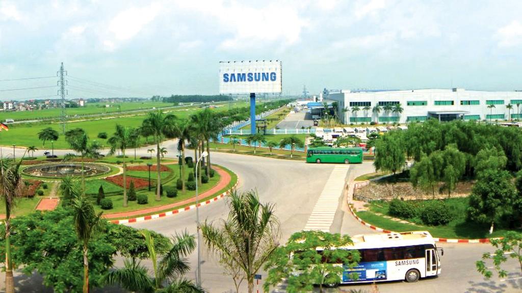 Tổng số vốn Samsung đầu tư tại Bắc Ninh lên tới 6,5 tỷ USD. Ảnh: Hoài Đức
